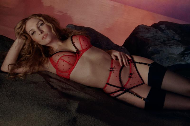 agent provocateur utopia spring summer collection campaign lingerie bra underwear stockings