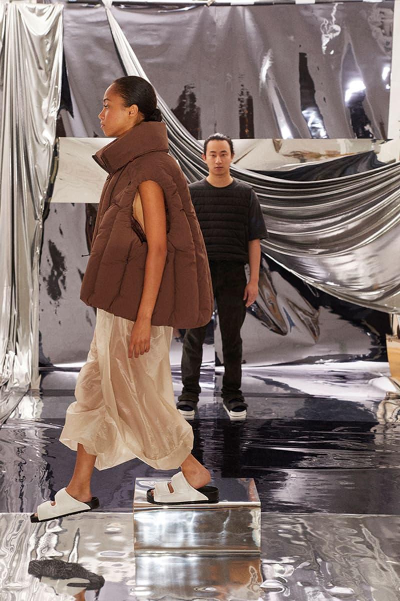 birkenstock central saint martins csm emerging designers collaboration dingyun zhang comfort
