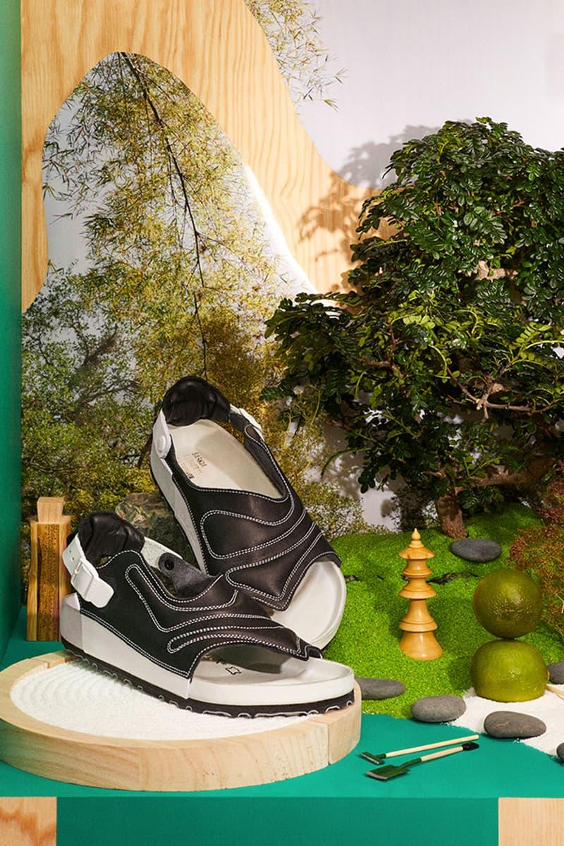 birkenstock central saint martins csm emerging designers collaboration sandals saskia lenaerts