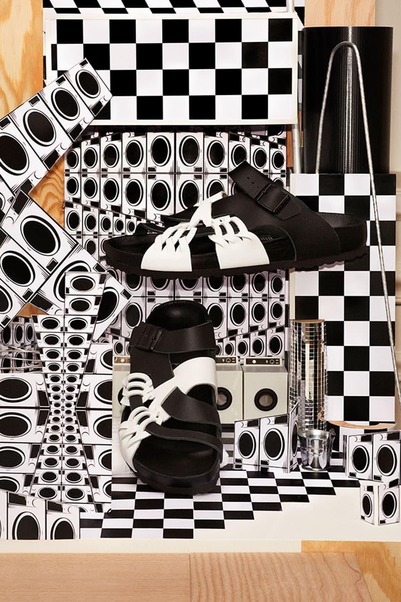 birkenstock central saint martins csm emerging designers collaboration sandals