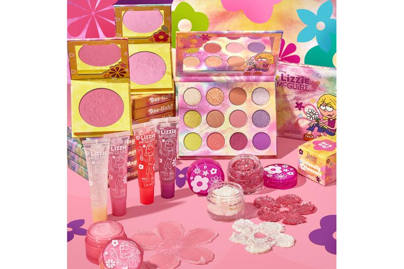 colourpop disney lizzie mcguire collaboration eyeshadows lip gloss scrub blushes makeup
