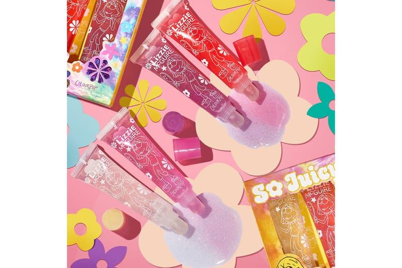 colourpop disney lizzie mcguire collaboration lip gloss makeup