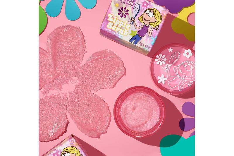 colourpop disney lizzie mcguire collaboration lip scrub makeup