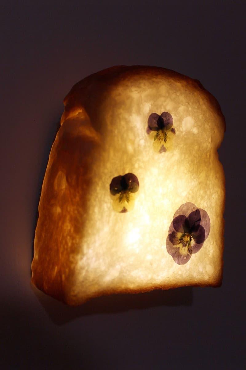 dauphinette pampshade ss21 spring summer bread led lamps floral loaf dark