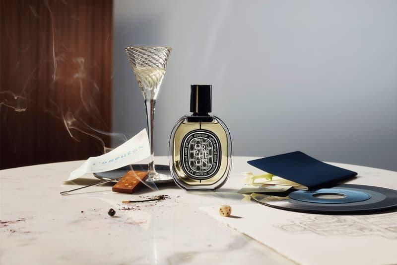 diptyque orpheon eau de parfum perfume fragrance floral woody bottle front