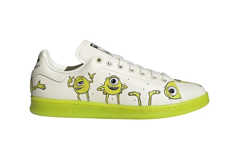 Disney x adidas Originals Stan Smith Wall-E Mike Wazowski Monsters Inc