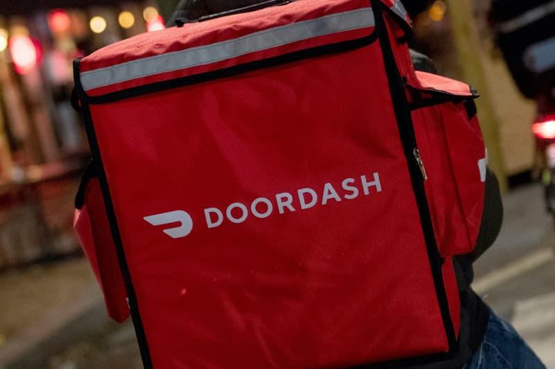 DoorDash Delivery Bag Logo