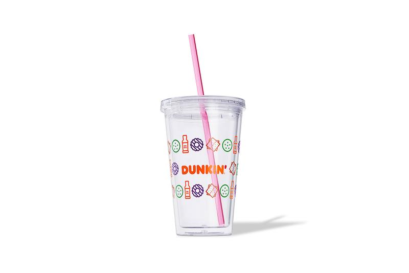 dunkin girl scout cookie collaboration merch chill collection cup