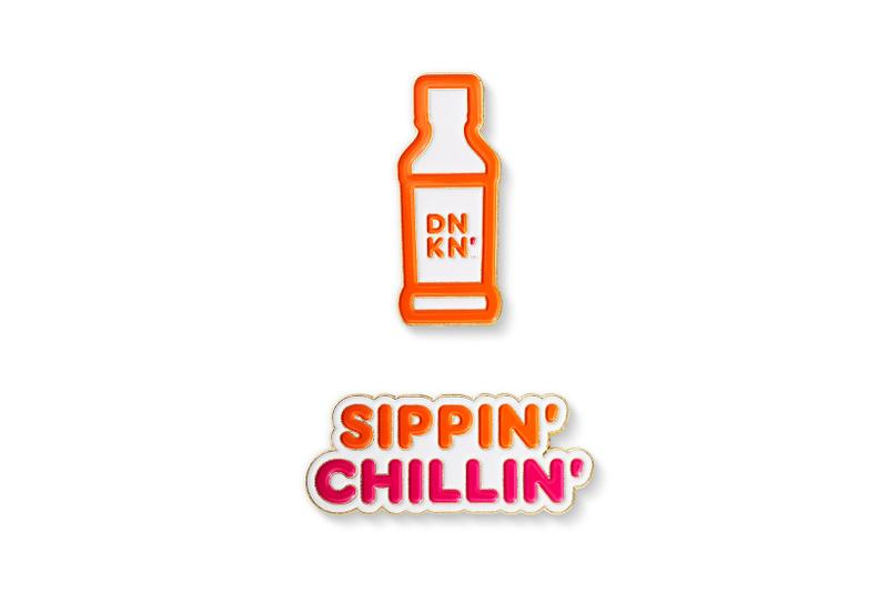 dunkin girl scout cookie collaboration merch chill collection pin
