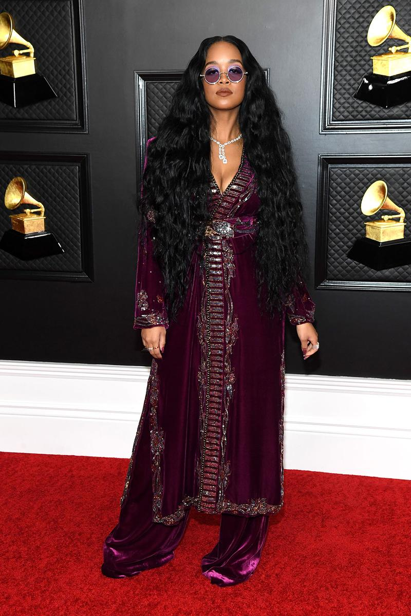 grammy awards 63rd best dressed celebrities red carpet looks her gabriella wilson