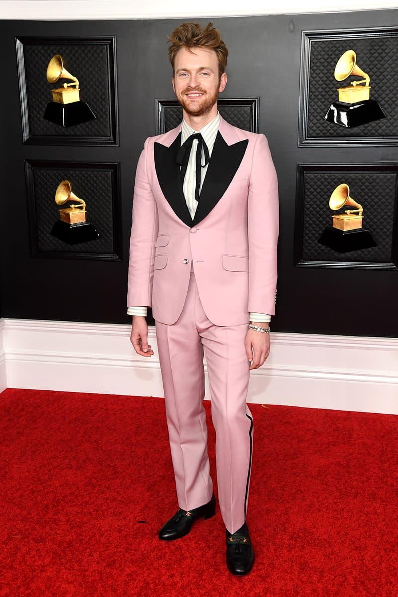 grammy awards 63rd best dressed celebrities red carpet looks finneas