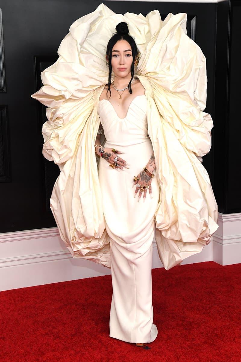 grammy awards 63rd best dressed celebrities red carpet looks noah cyrus