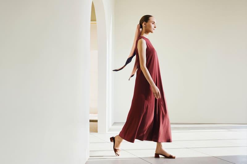 hana tajima uniqlo spring summer 2021 ss21 collaboration dress model campaign