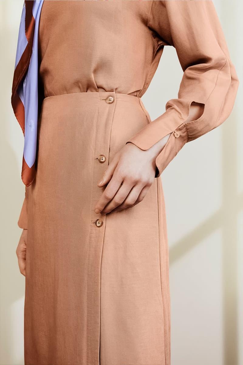 hana tajima uniqlo spring summer 2021 ss21 collaboration dress modest fashion