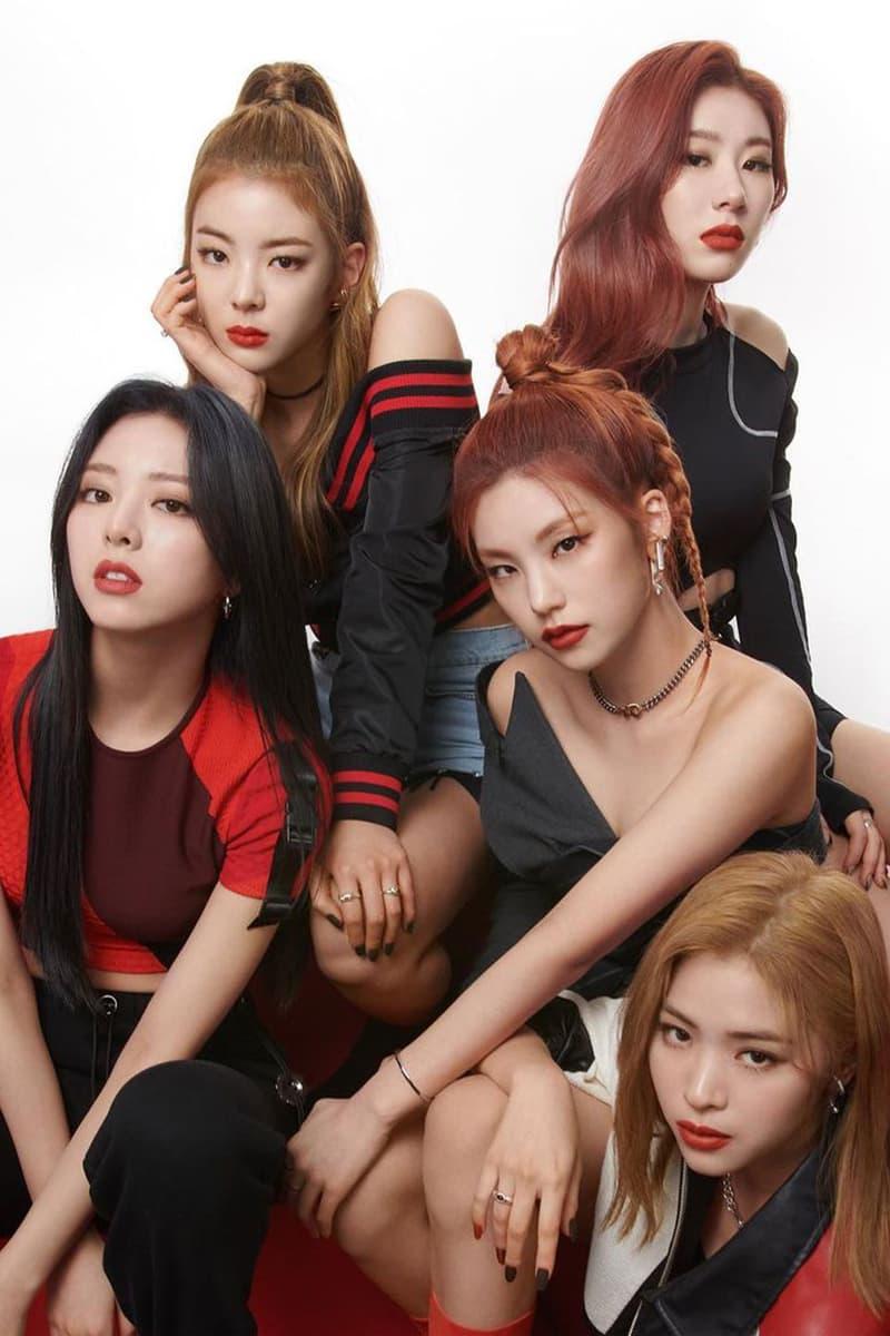 itzy maybelline new york global spokesmodels ambassadors k-pop yeji lia ryujin chaeryeong yuna makeup