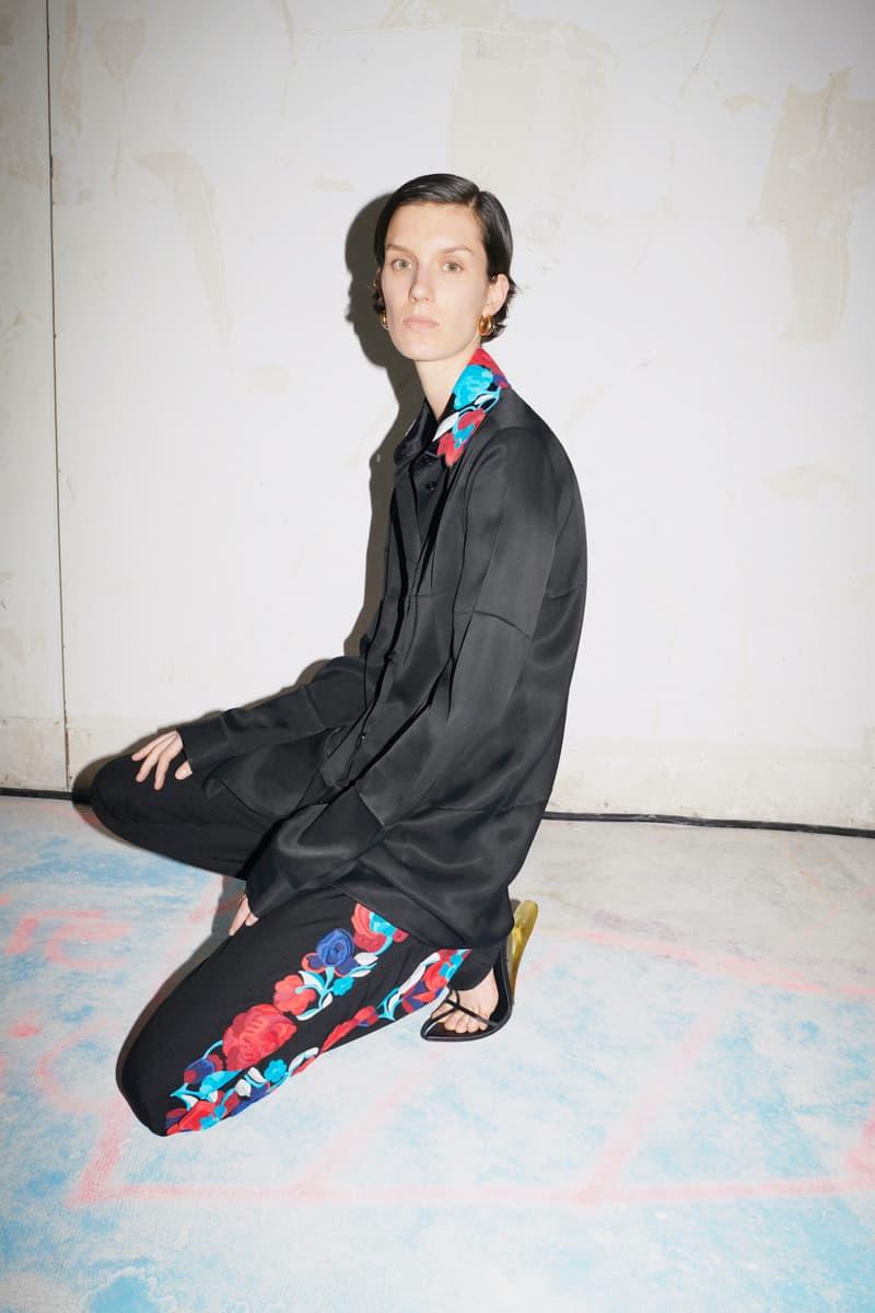 jil sander fall winter womens collection paris fashion week pfw sandals pants top