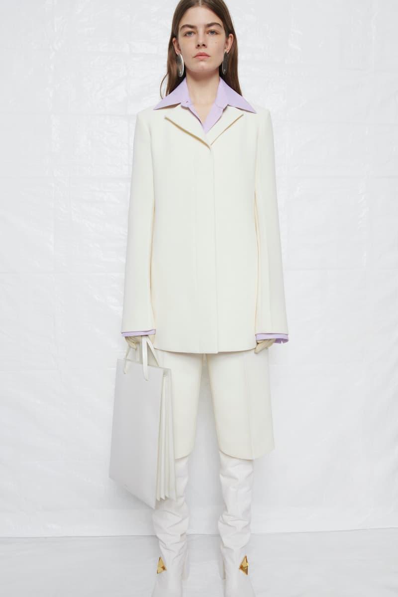 jil sander fall winter womens collection paris fashion week pfw outerwear jacket pants handbag