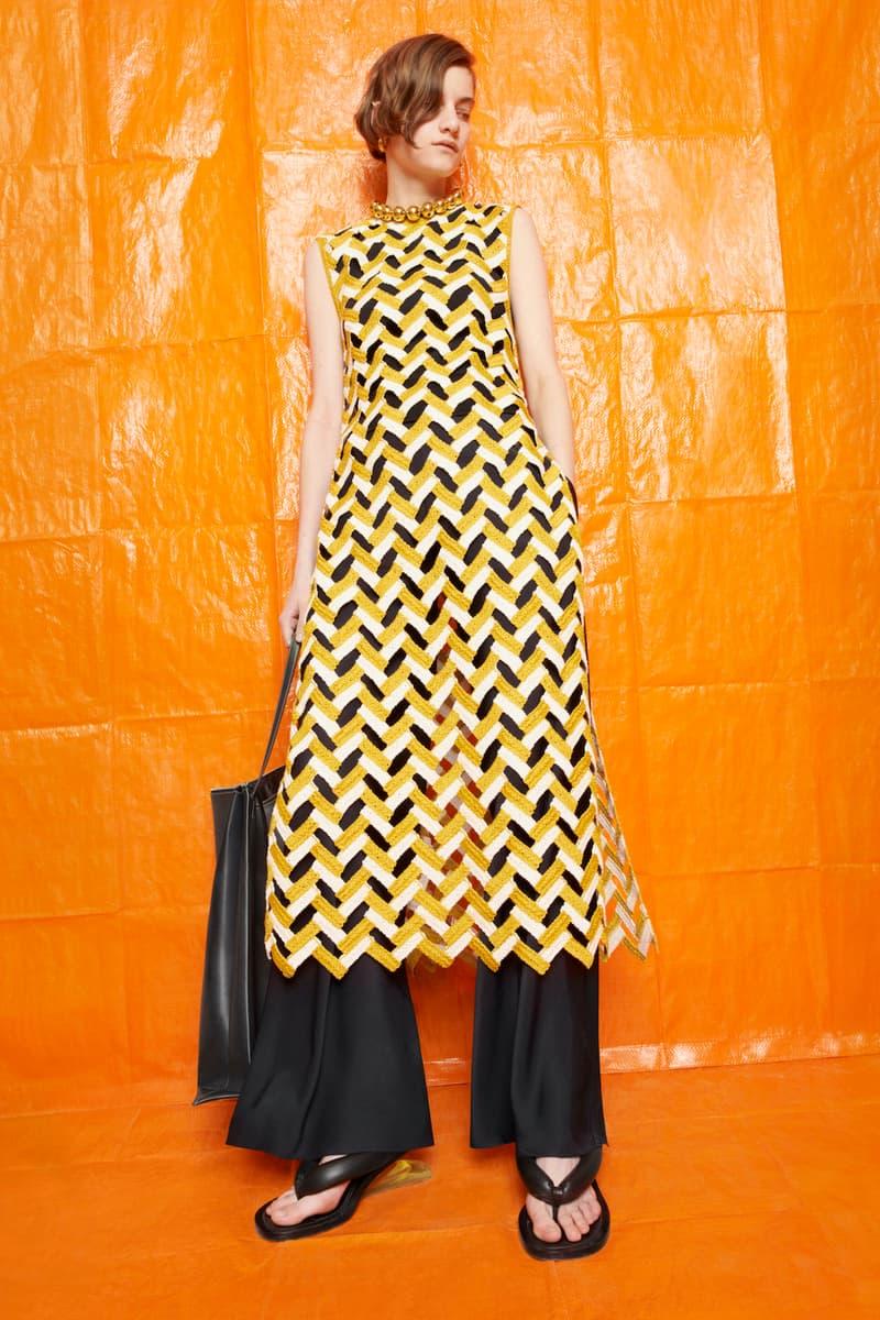 jil sander fall winter womens collection paris fashion week pfw dress pants handbag sandals