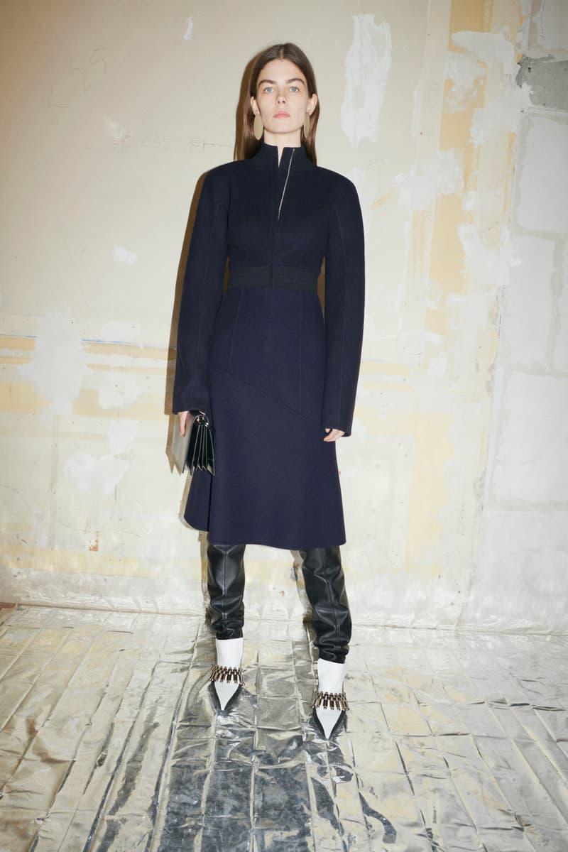 jil sander fall winter womens collection paris fashion week pfw outerwear jacket pants