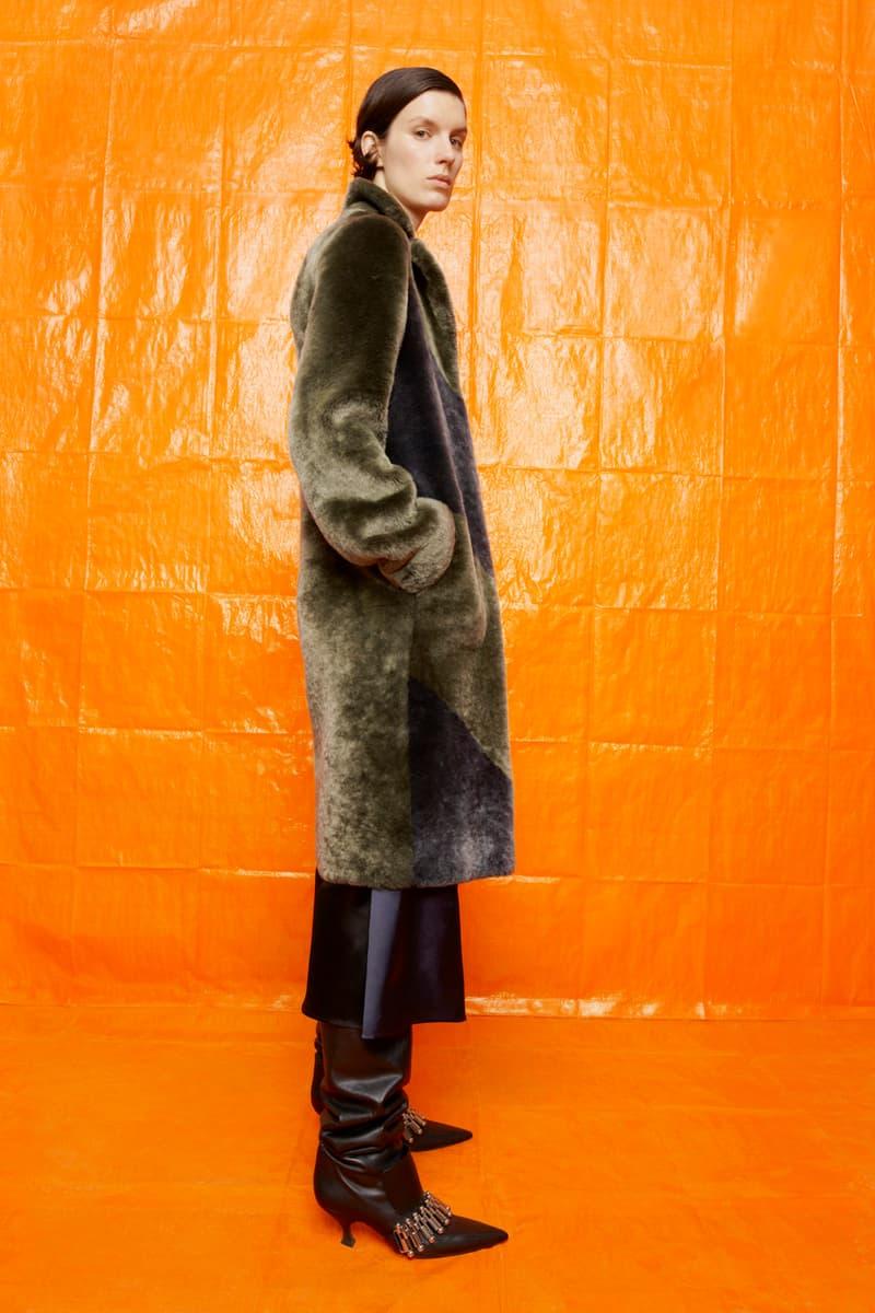 jil sander fall winter womens collection paris fashion week pfw outerwear jacket boots pants