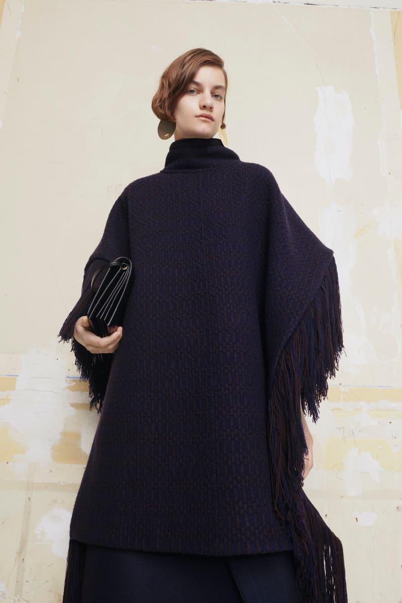 jil sander fall winter womens collection paris fashion week pfw outerwear handbag