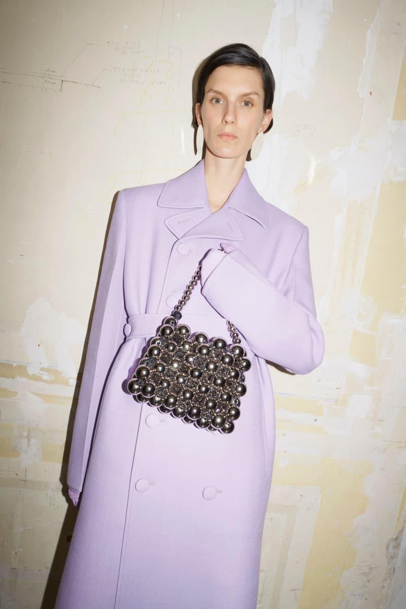 jil sander fall winter womens collection paris fashion week pfw outerwear jacket handbag