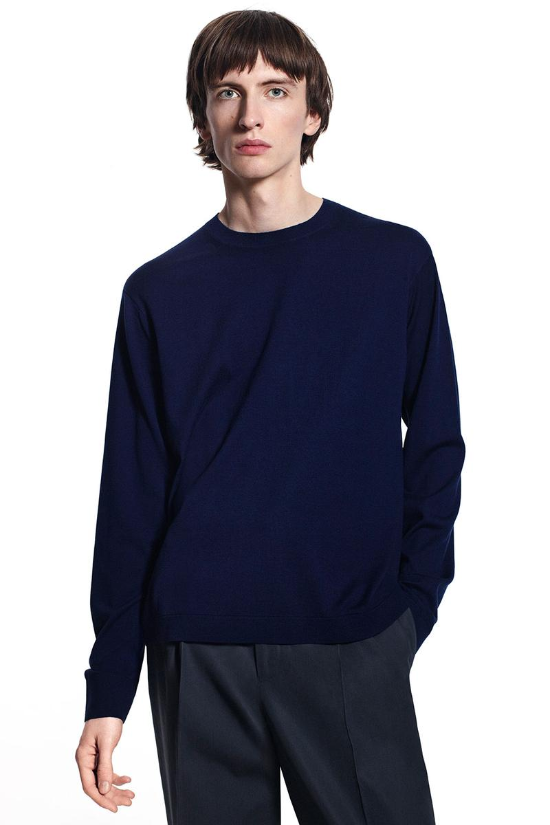 jil sander uniqlo plus j spring summer ss21 collaboration collection knit sweater
