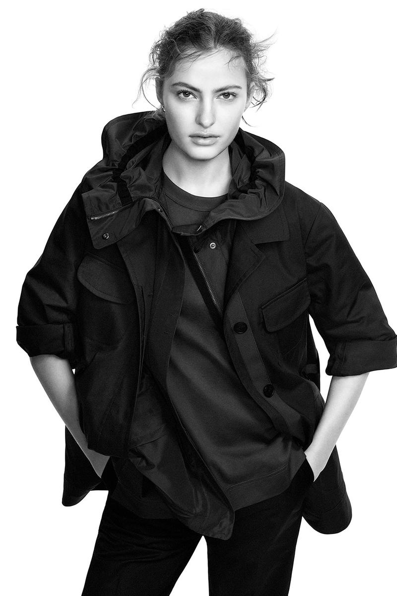 jil sander uniqlo plus j spring summer ss21 collaboration collection rain jacket womenswear campaign