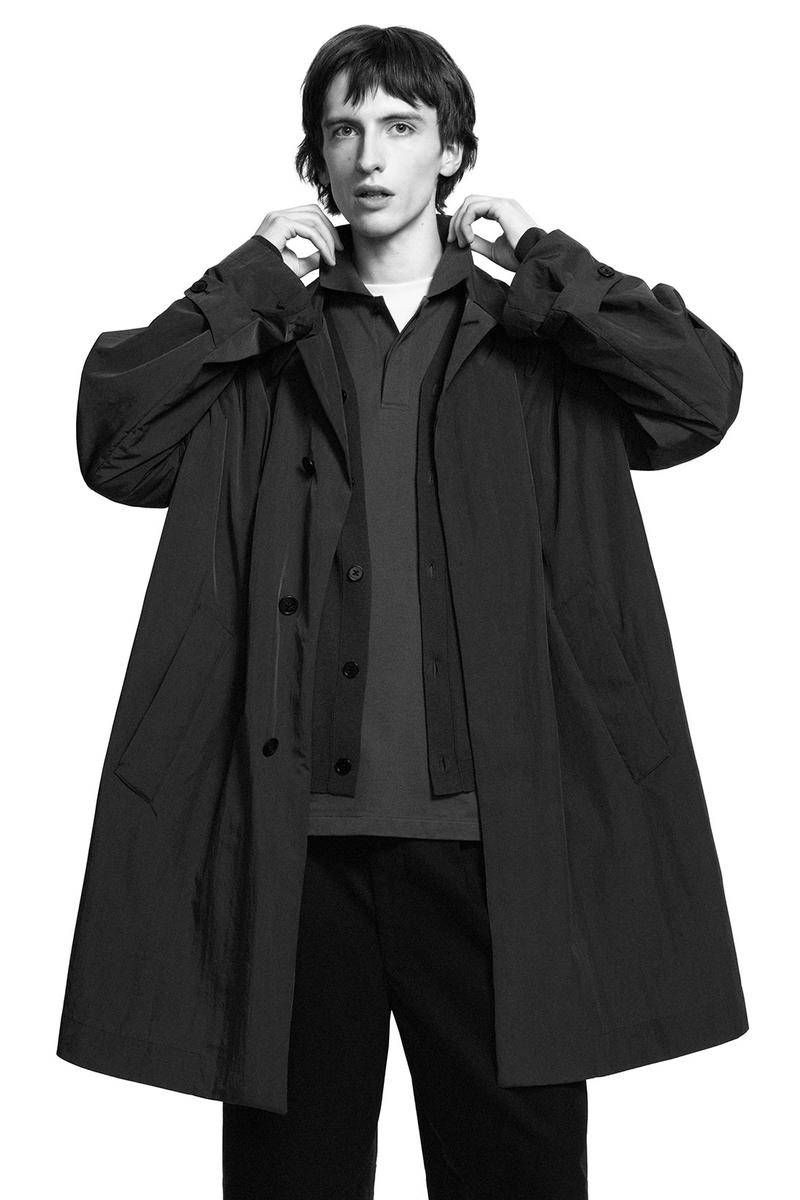 jil sander uniqlo plus j spring summer ss21 collaboration collection rain jacket coat outerwear