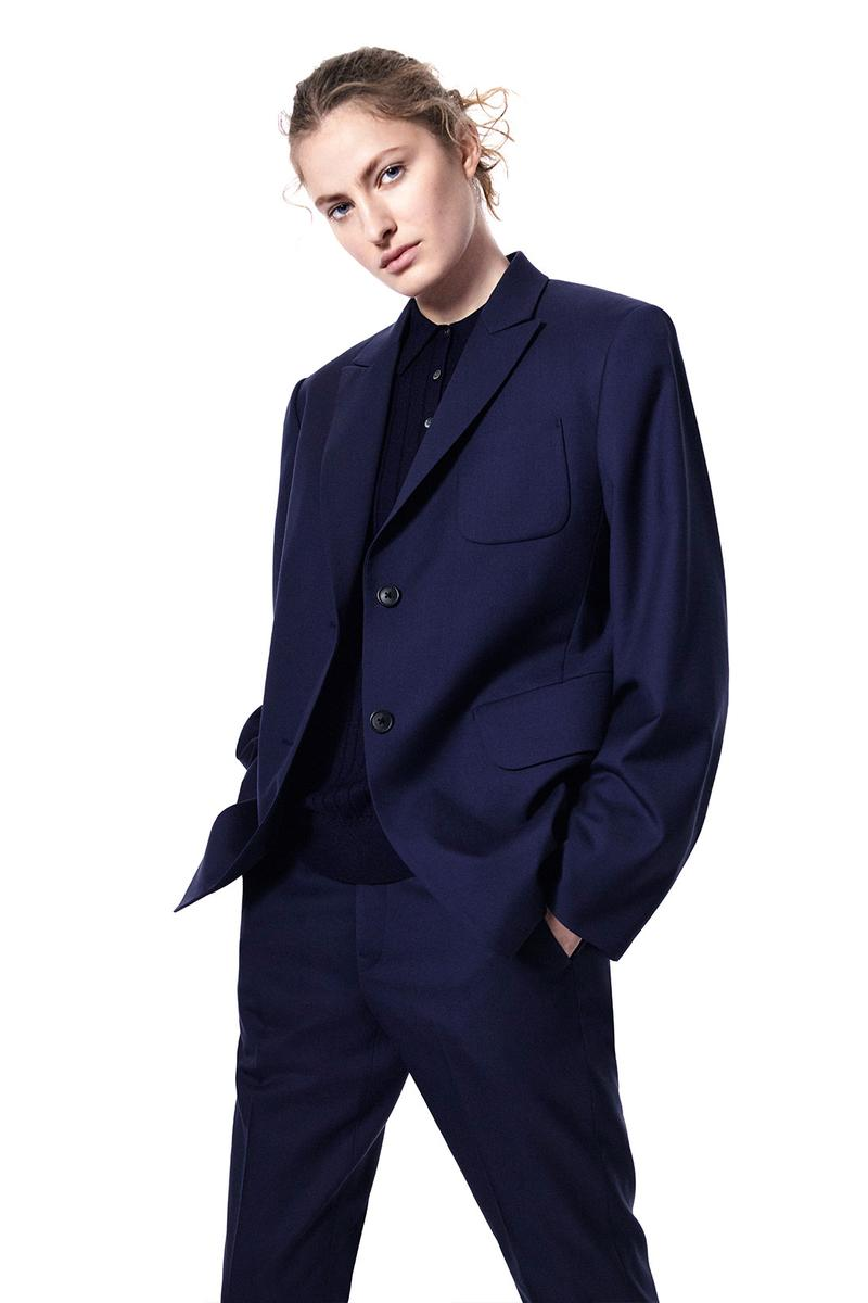 jil sander uniqlo plus j spring summer ss21 collaboration collection suit jacket blazer