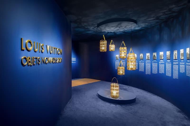 louis vuitton hong kong objets nomades exhibition collectibles entrance