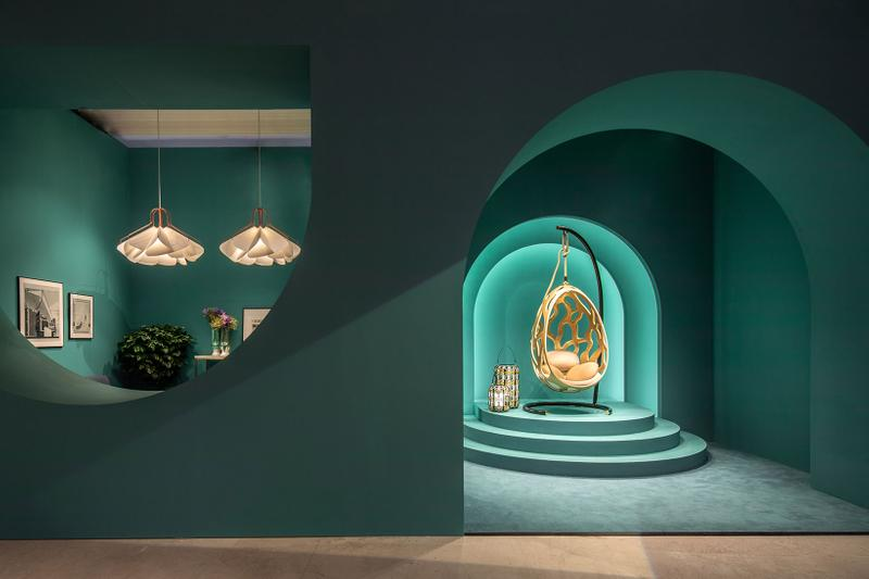 louis vuitton hong kong objets nomades exhibition collectibles hanging chair lights