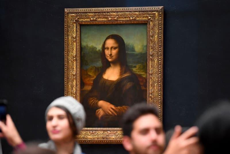 Mona Lisa Painting Louvre Museum Paris
