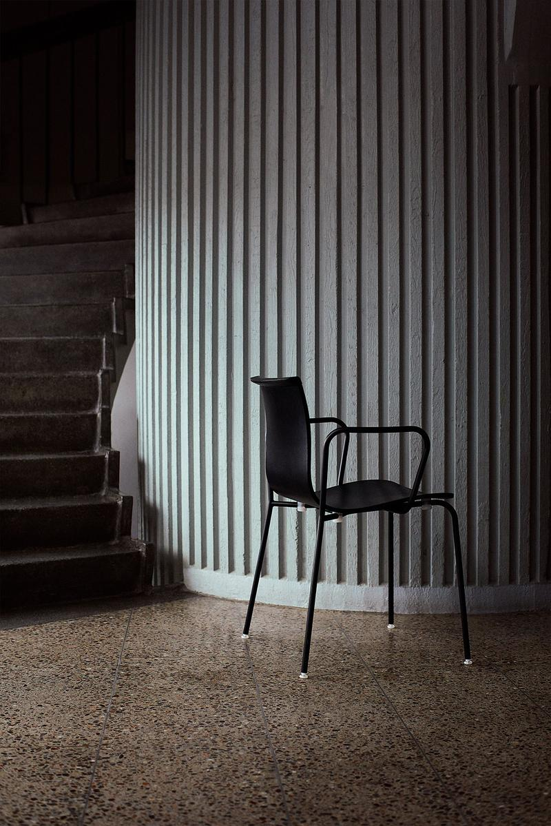 massproductions home design chairs serif shell black arms stairs