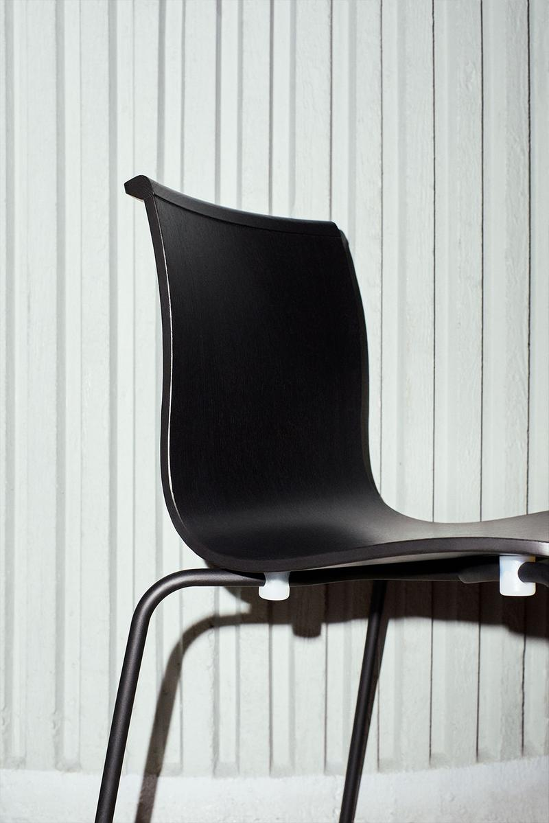 massproductions home design chairs serif shell black