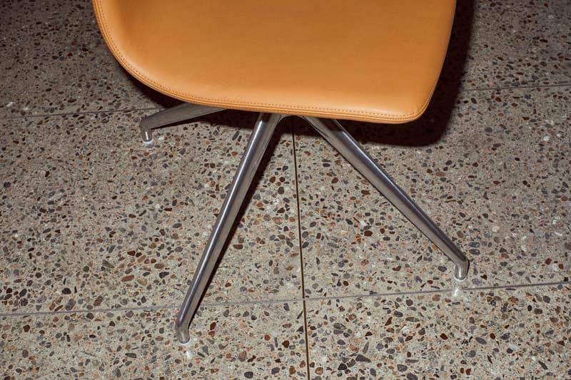 massproductions home design chairs serif shell oak wood legs steel