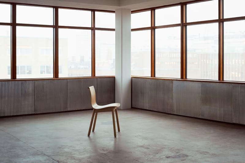 massproductions home design chairs serif shell room minimal oak wood