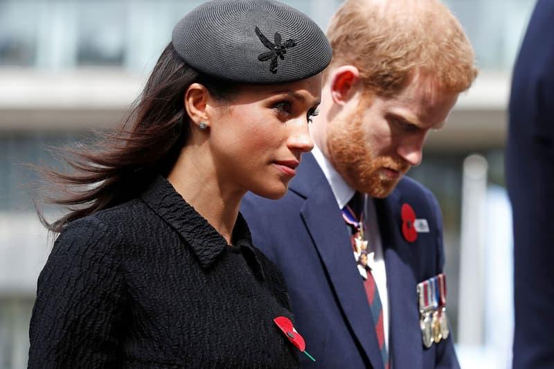 Meghan Markle Prince Harry Anzac Day 2018