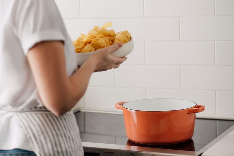 milo cookware kitchen cast iron pants pots new colorways orange