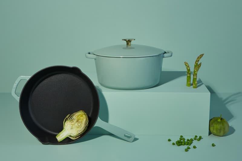 milo cookware kitchen cast iron pants pots new colorways blue