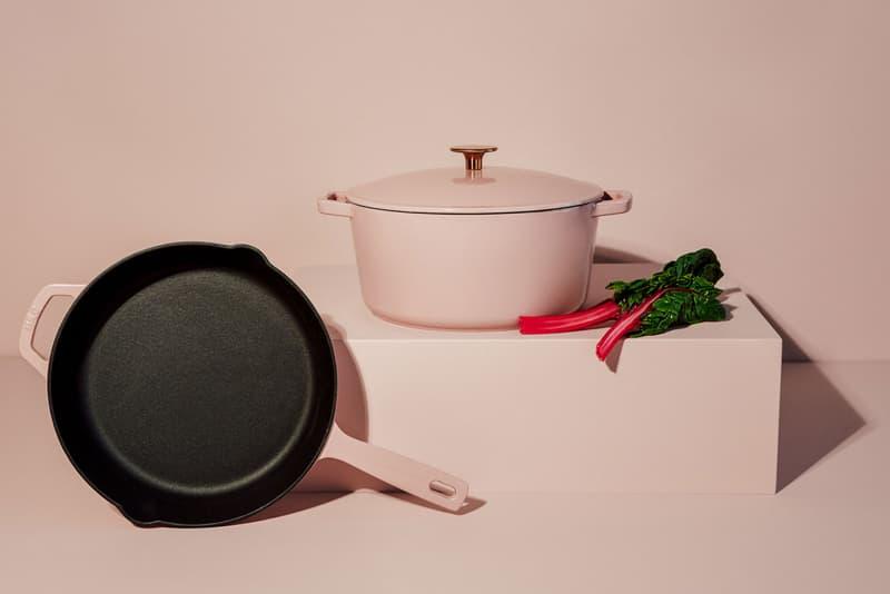 milo cookware kitchen cast iron pants pots new colorways pastel pink