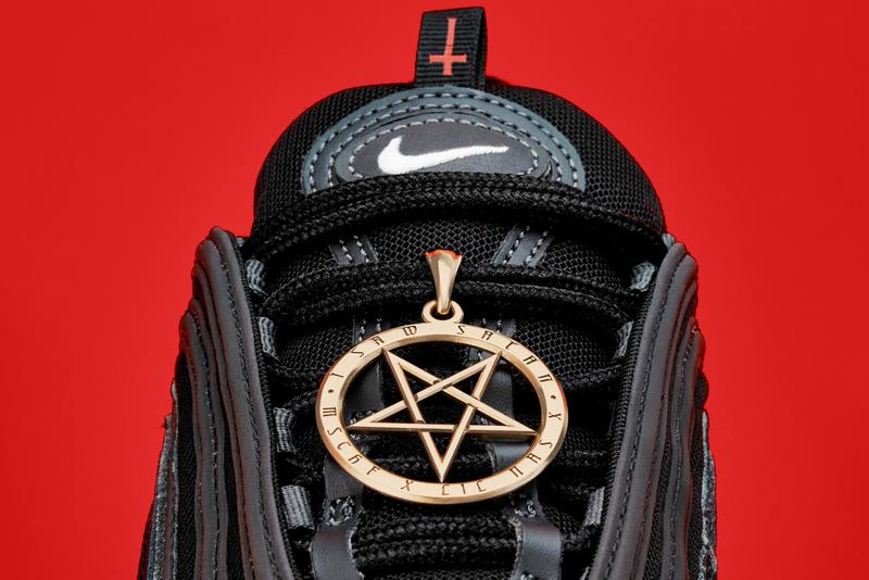 mschf lil nas x nike air max 97 am97 satan shoes sneakers human blood ink lacing system