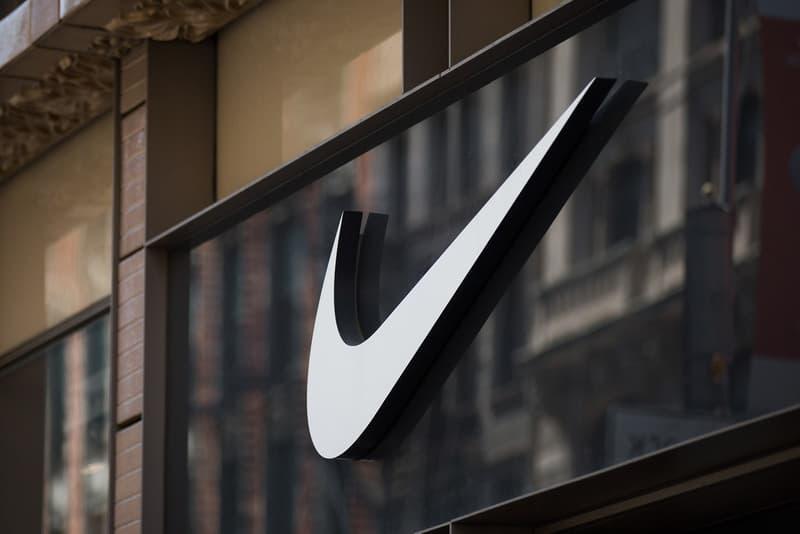 Nike Store New York City Logo Exterior