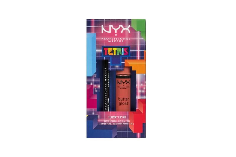 nyx professional makeup tetris collaboration lipstick kit