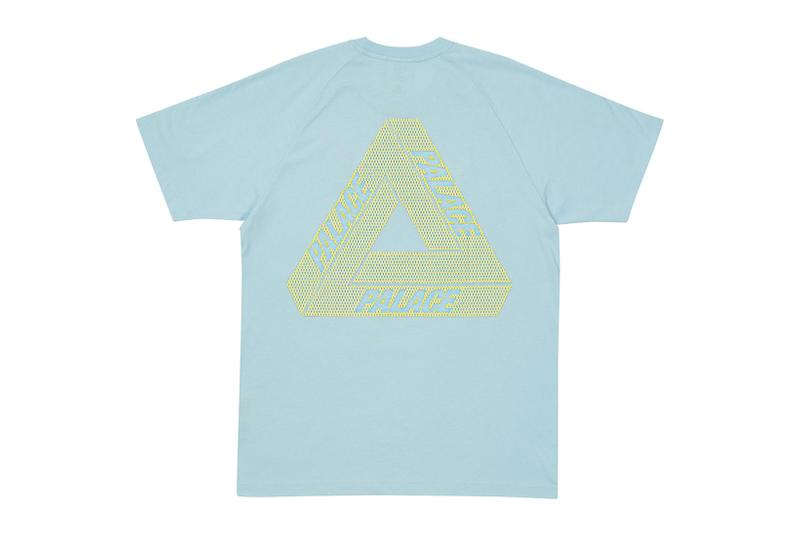 palace spring drop 4 collection adidas mini collaboration three stripes back blue