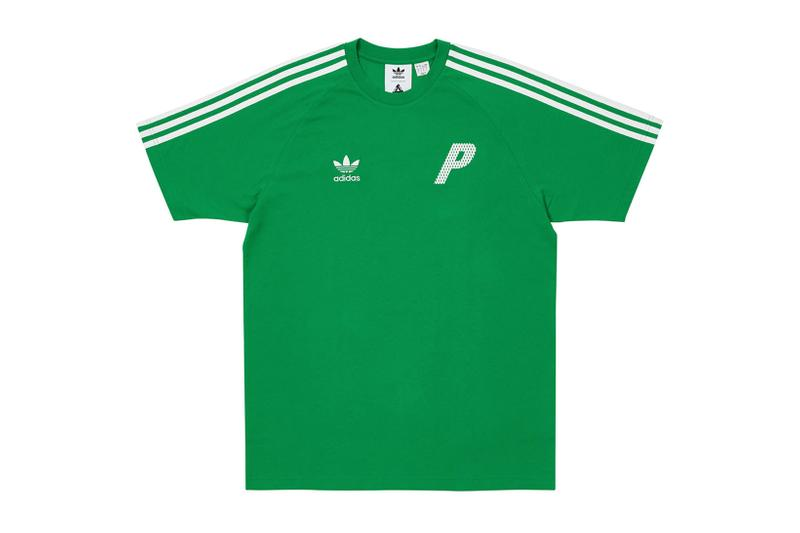 palace spring drop 4 collection adidas mini collaboration three stripes green