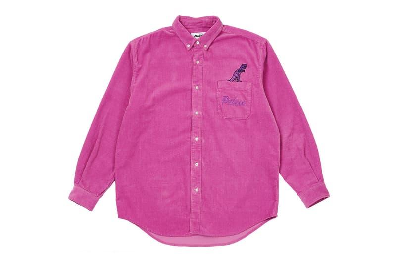 palace spring drop 4 collection logo shirt pink