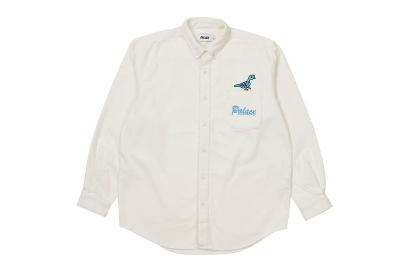 palace spring drop 4 collection logo shirt white