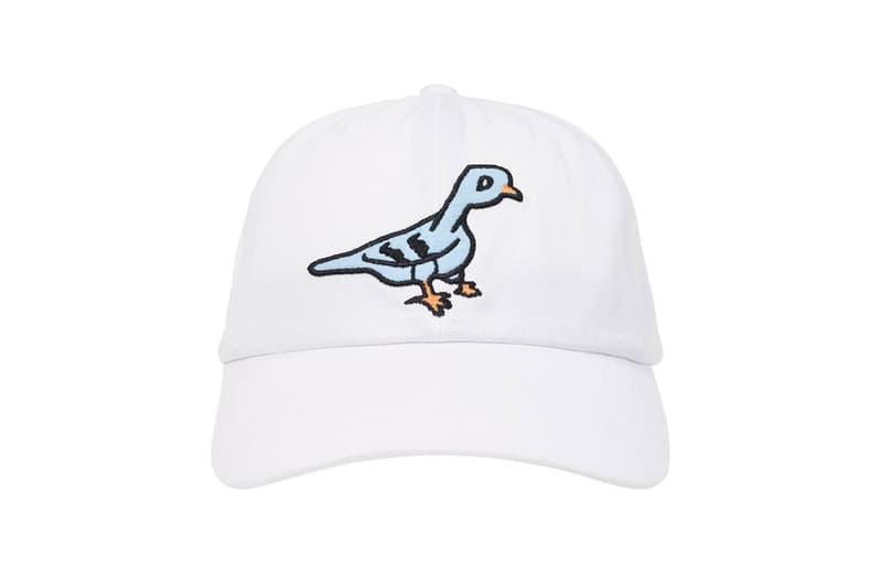 palace spring drop 4 collection logo cap hat graphic bird