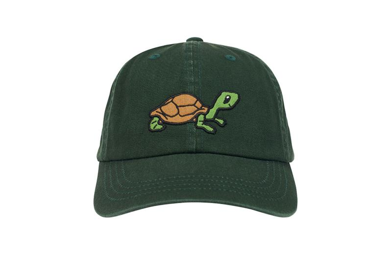 palace spring drop 4 collection logo cap hat graphic turtle